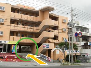 駐車場はこちらになります。